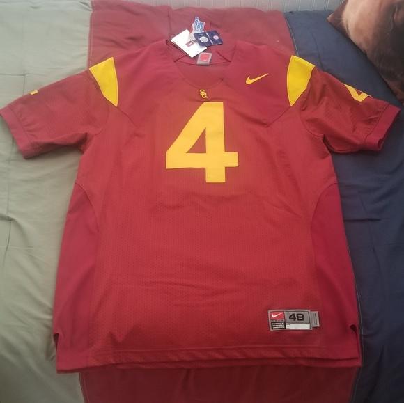 best website 9635b 358ea Nike - USC Trojan (Authentic) Football Jersey NWT